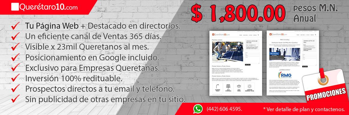 Promueve tu Negocio, Servicio o Producto en Querétaro