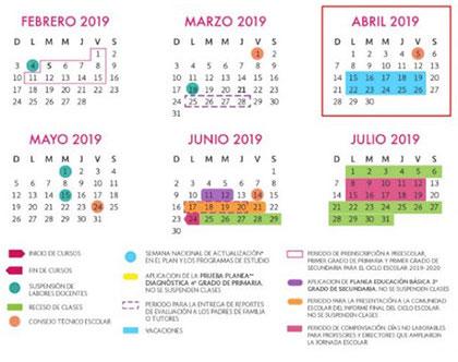 calendario-escolar-semana-santa-2019