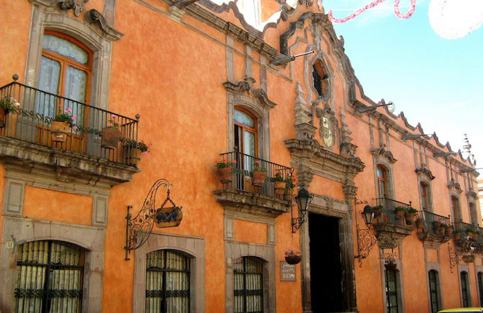 Casa de la marquesa poca del barroco mexicano quer taro for Casa de eventos la mansion sabanalarga