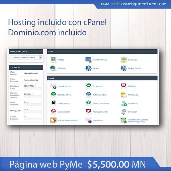 Diseño página web responsive swq plan pyme