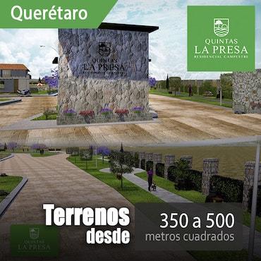 Terrenos en Venta Quintas la Presa Querétaro