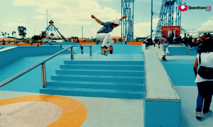 Pista de Skateboarding-Parque-Bicentenario