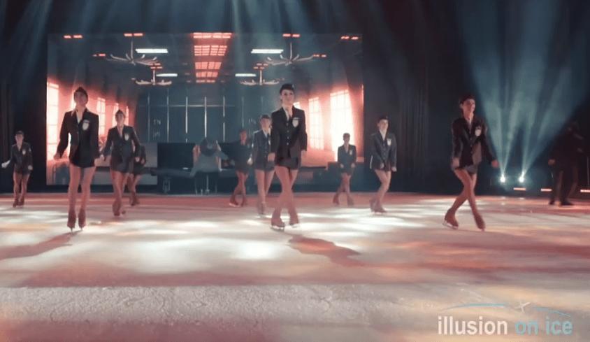 Tempo espectáculo en hielo El Circo Feria de Querétaro 2019