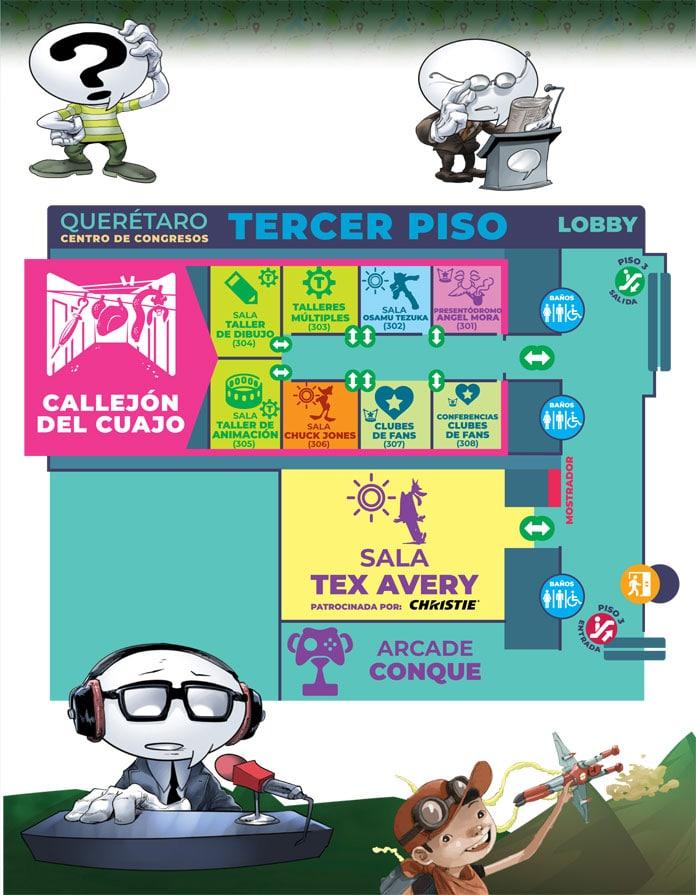 CONQUE 2019 | Convención Anual de Comics - Tercer Piso