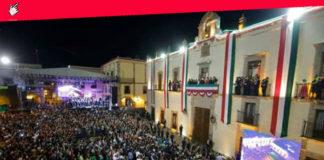 Día del grito de la independencia de México en Queretaro