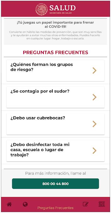App Coronavirus Covid-19 Queretaro